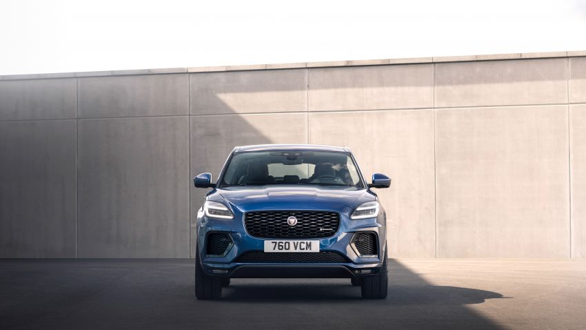 2021 Jaguar E-Pace – 309 PS 1.5L three-cylinder PHEV, 1.5L and 2.0L MHEVs; revised exterior and interior Image #1200951