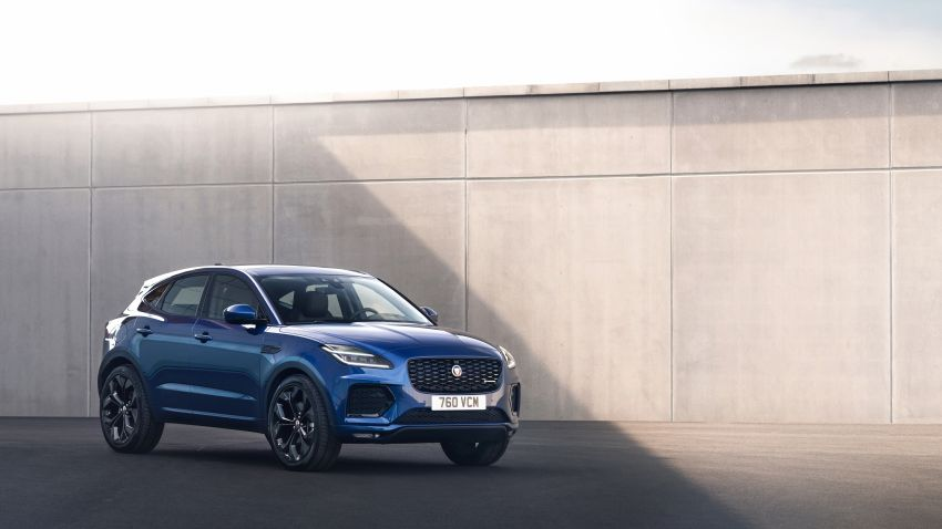 2021 Jaguar E-Pace – 309 PS 1.5L three-cylinder PHEV, 1.5L and 2.0L MHEVs; revised exterior and interior Image #1200950