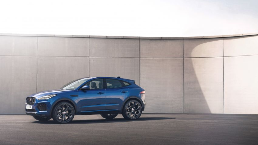 2021 Jaguar E-Pace – 309 PS 1.5L three-cylinder PHEV, 1.5L and 2.0L MHEVs; revised exterior and interior Image #1200949