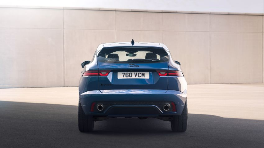 2021 Jaguar E-Pace – 309 PS 1.5L three-cylinder PHEV, 1.5L and 2.0L MHEVs; revised exterior and interior Image #1200948