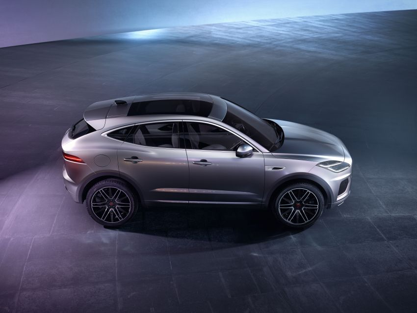 2021 Jaguar E-Pace – 309 PS 1.5L three-cylinder PHEV, 1.5L and 2.0L MHEVs; revised exterior and interior Image #1200940