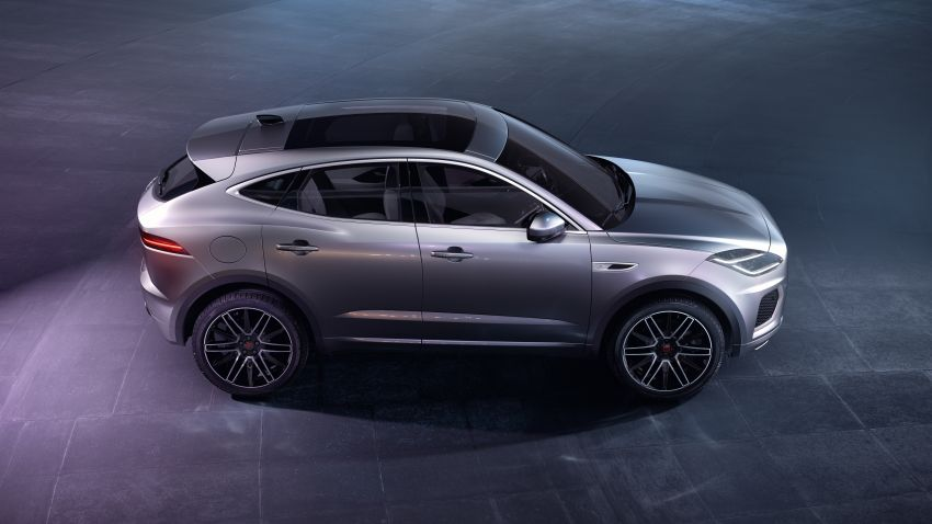 2021 Jaguar E-Pace – 309 PS 1.5L three-cylinder PHEV, 1.5L and 2.0L MHEVs; revised exterior and interior Image #1200939
