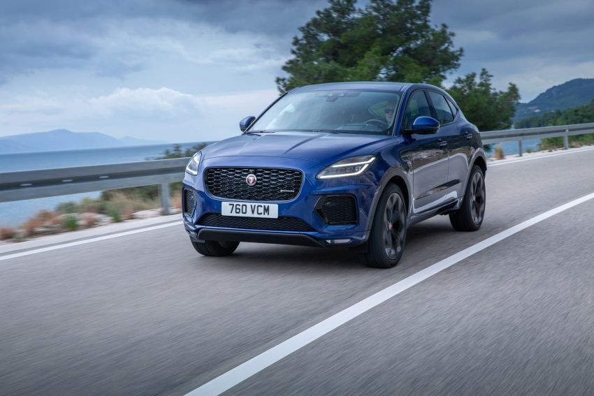 2021 Jaguar E-Pace – 309 PS 1.5L three-cylinder PHEV, 1.5L and 2.0L MHEVs; revised exterior and interior Image #1200932