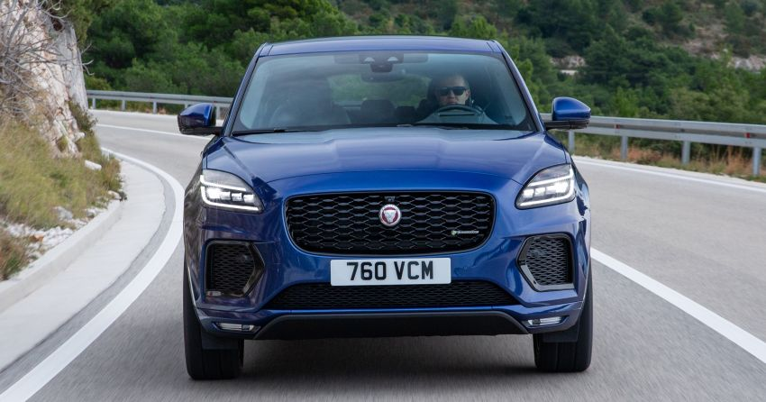 2021 Jaguar E-Pace – 309 PS 1.5L three-cylinder PHEV, 1.5L and 2.0L MHEVs; revised exterior and interior Image #1200931