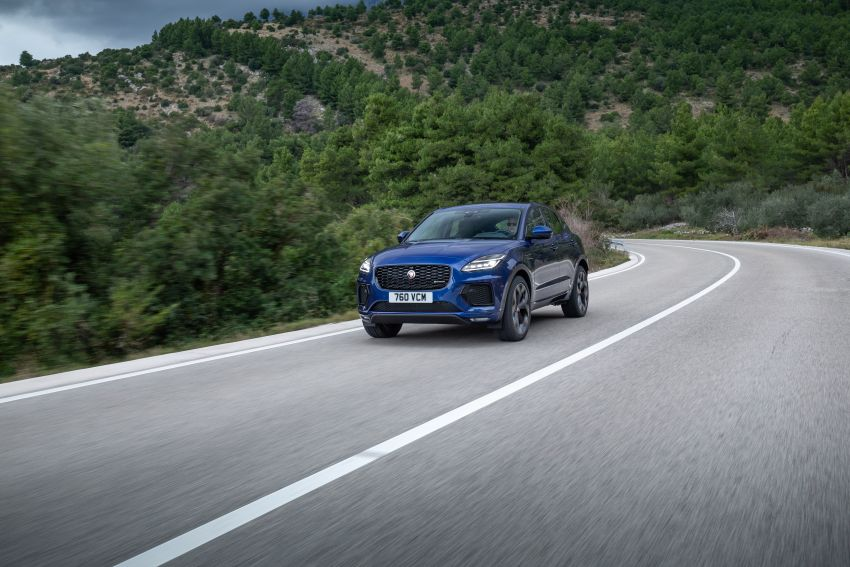 2021 Jaguar E-Pace – 309 PS 1.5L three-cylinder PHEV, 1.5L and 2.0L MHEVs; revised exterior and interior Image #1200930