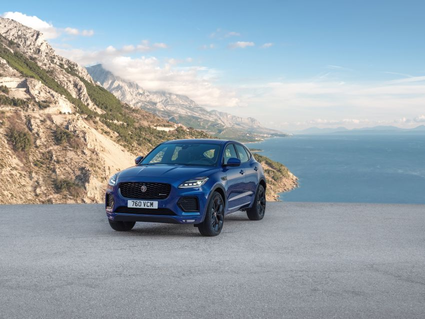 2021 Jaguar E-Pace – 309 PS 1.5L three-cylinder PHEV, 1.5L and 2.0L MHEVs; revised exterior and interior Image #1200929