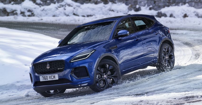 2021 Jaguar E-Pace – 309 PS 1.5L three-cylinder PHEV, 1.5L and 2.0L MHEVs; revised exterior and interior Image #1200928