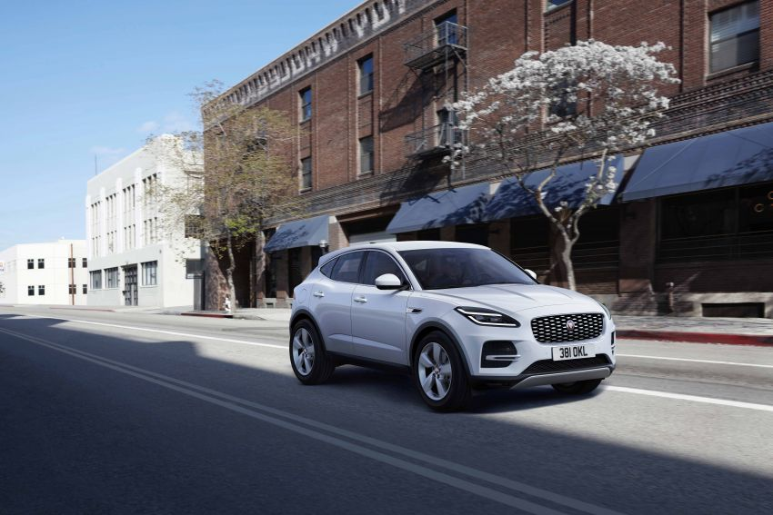 2021 Jaguar E-Pace – 309 PS 1.5L three-cylinder PHEV, 1.5L and 2.0L MHEVs; revised exterior and interior Image #1200918