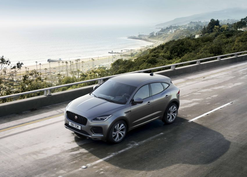 2021 Jaguar E-Pace – 309 PS 1.5L three-cylinder PHEV, 1.5L and 2.0L MHEVs; revised exterior and interior Image #1200916