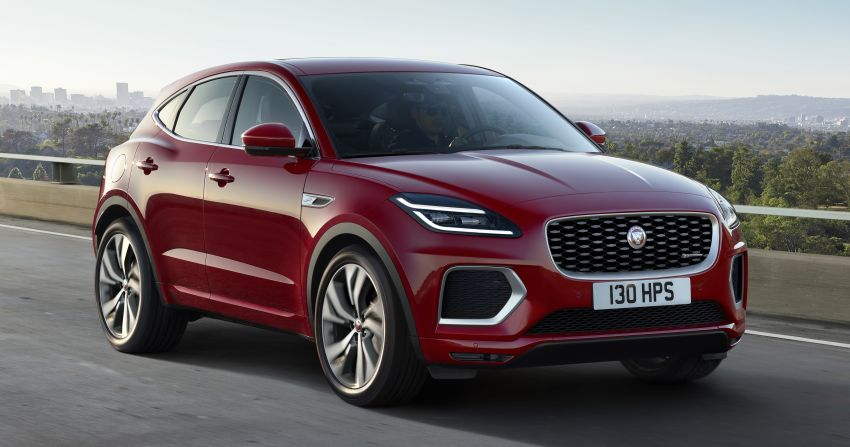 2021 Jaguar E-Pace – 309 PS 1.5L three-cylinder PHEV, 1.5L and 2.0L MHEVs; revised exterior and interior Image #1200915