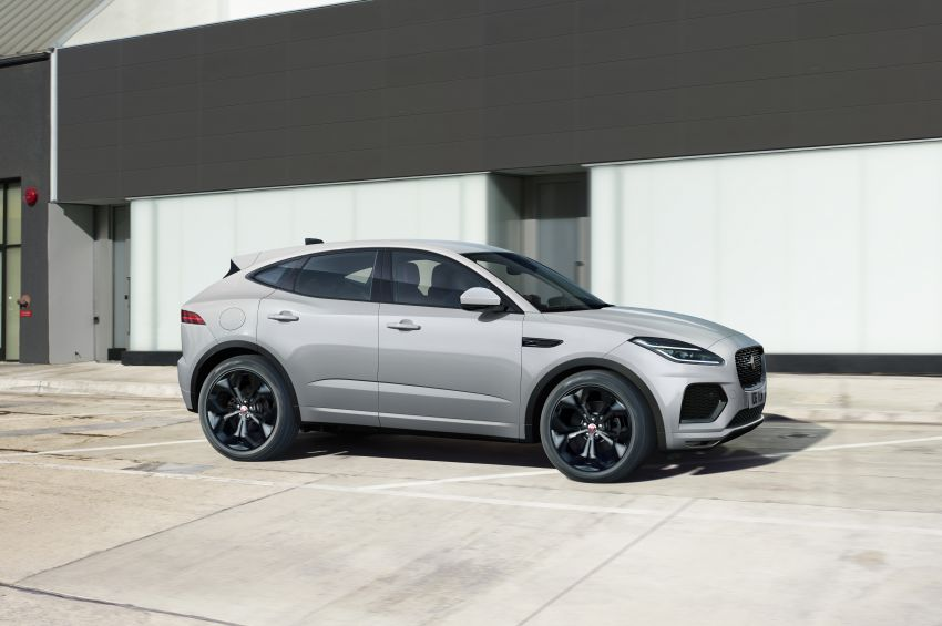 2021 Jaguar E-Pace – 309 PS 1.5L three-cylinder PHEV, 1.5L and 2.0L MHEVs; revised exterior and interior Image #1200914