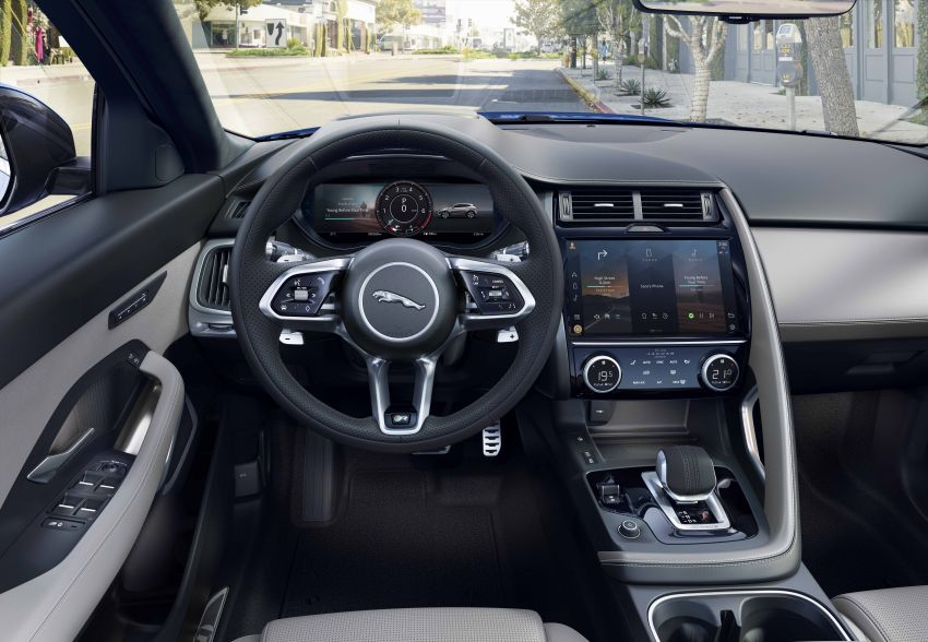 2021 Jaguar E-Pace – 309 PS 1.5L three-cylinder PHEV, 1.5L and 2.0L MHEVs; revised exterior and interior Image #1200978