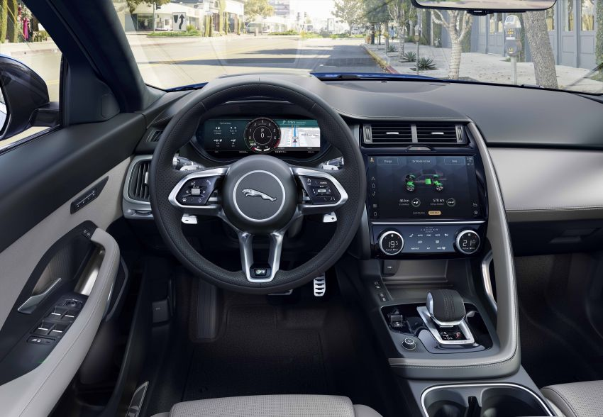 2021 Jaguar E-Pace – 309 PS 1.5L three-cylinder PHEV, 1.5L and 2.0L MHEVs; revised exterior and interior Image #1200966