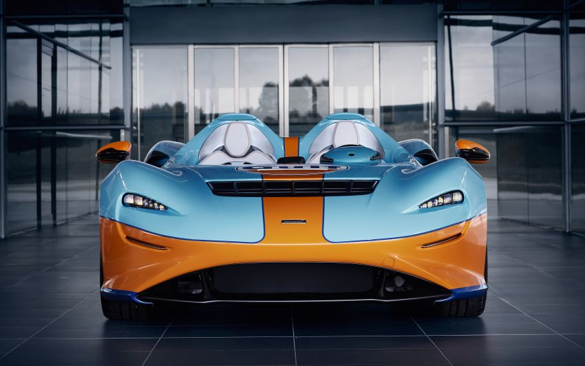McLaren Elva gets Gulf colours by MSO for Goodwood Image #1195082