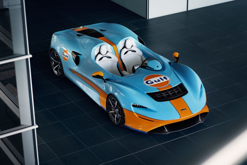 McLaren Elva gets Gulf colours by MSO for Goodwood Image #1195083