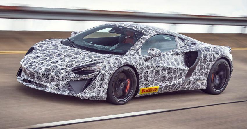 McLaren teases new hybrid V6 supercar – 2021 debut Image #1188835