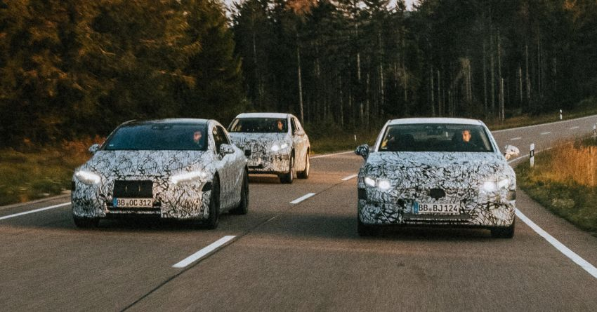 Mercedes-Benz EQS to be introduced in 2021 – EQS SUV, EQE, EQE SUV, EQA and EQB to come after Image #1188963