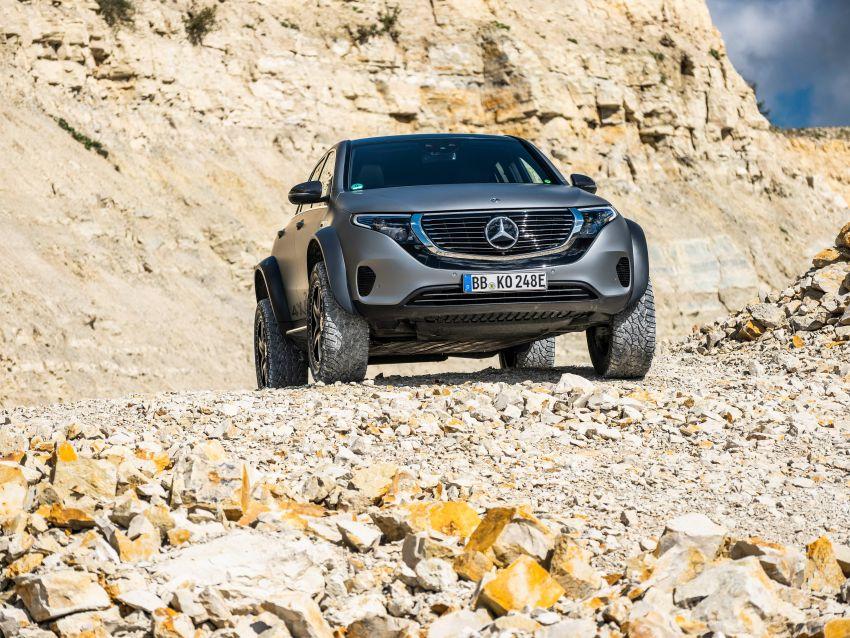 Mercedes-Benz EQC 4×4² – EV off-roading concept Image #1192420