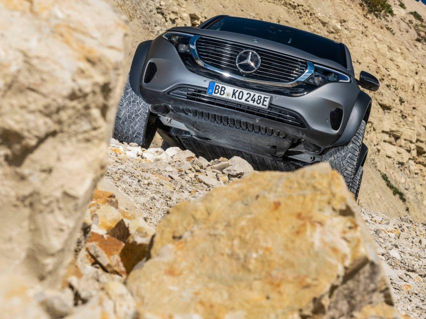 Mercedes-Benz EQC 4×4² – EV off-roading concept Image #1192421