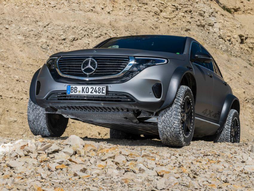 Mercedes-Benz EQC 4×4² – EV off-roading concept Image #1192422
