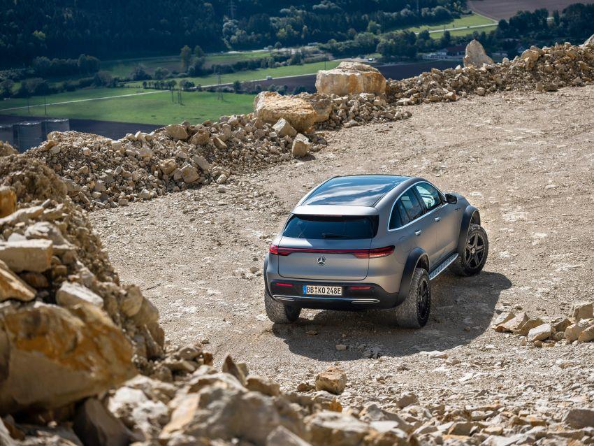 Mercedes-Benz EQC 4×4² – EV off-roading concept Image #1192424