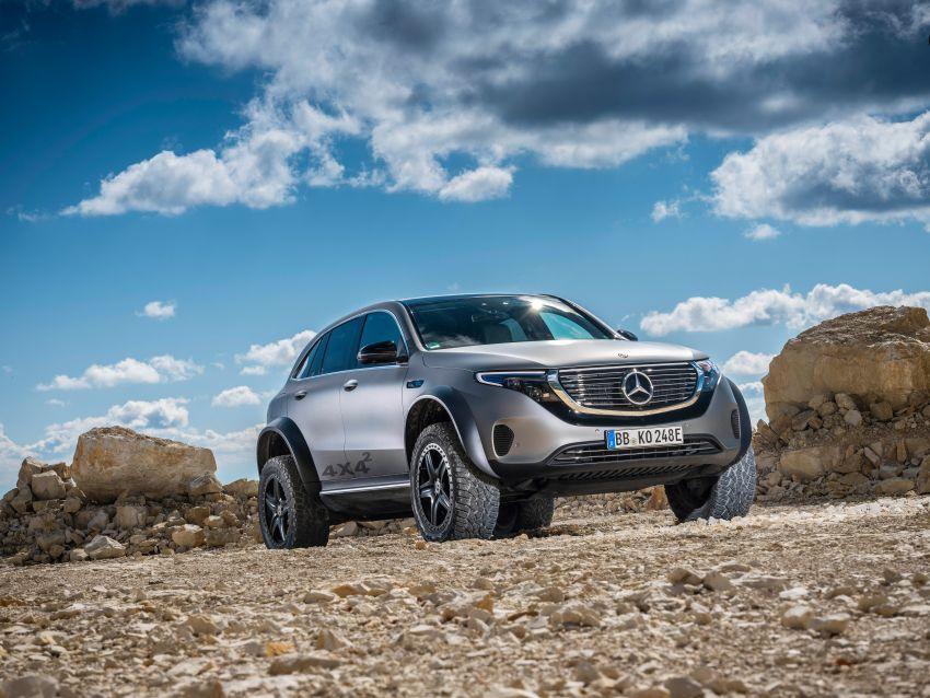 Mercedes-Benz EQC 4×4² – EV off-roading concept Image #1192425