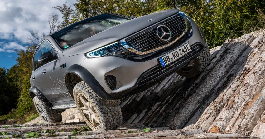 Mercedes-Benz EQC 4×4² – EV off-roading concept Image #1192426