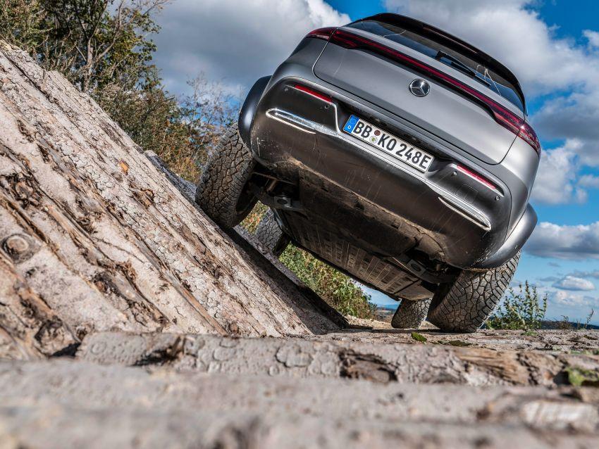 Mercedes-Benz EQC 4×4² – EV off-roading concept Image #1192427