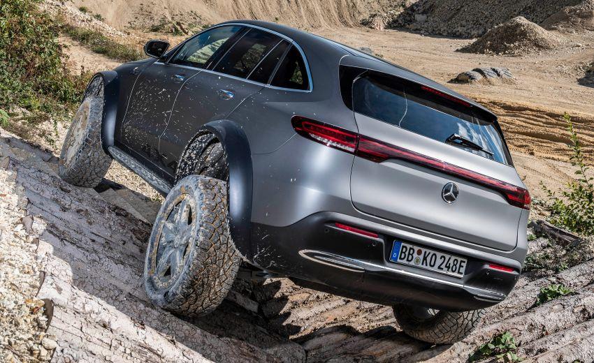 Mercedes-Benz EQC 4×4² – EV off-roading concept Image #1192428