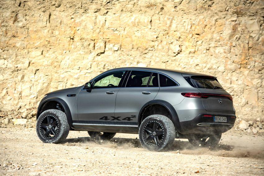Mercedes-Benz EQC 4×4² – EV off-roading concept Image #1192434