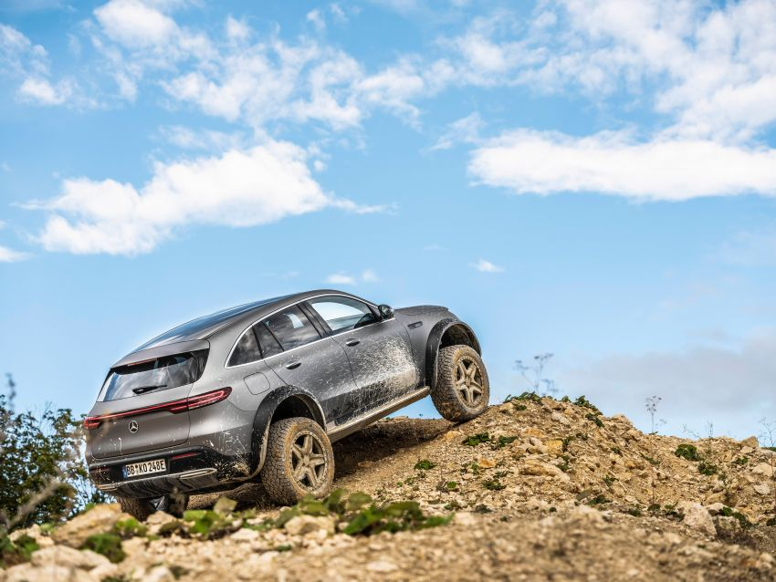 Mercedes-Benz EQC 4×4² – EV off-roading concept Image #1192440