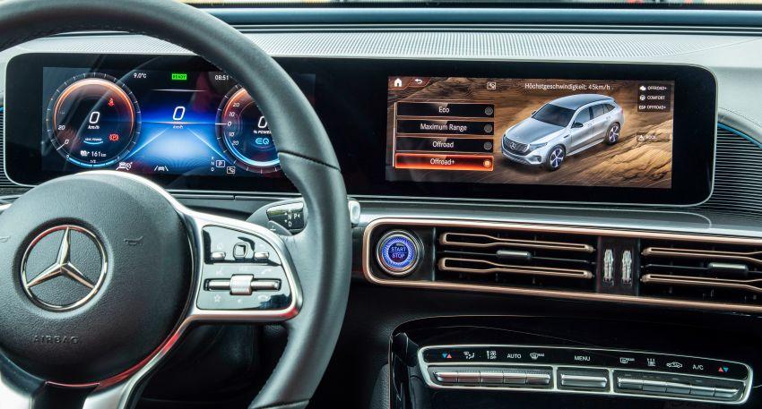 Mercedes-Benz EQC 4×4² – EV off-roading concept Image #1192443