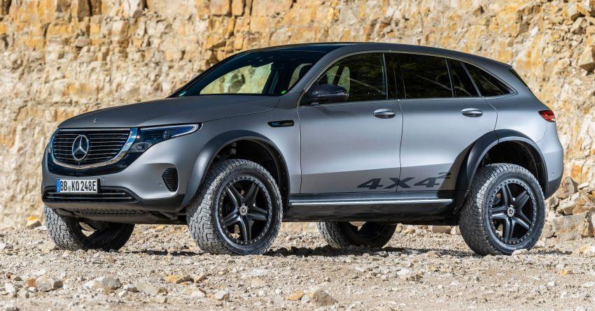 Mercedes-Benz EQC 4×4² – EV off-roading concept Image #1192418
