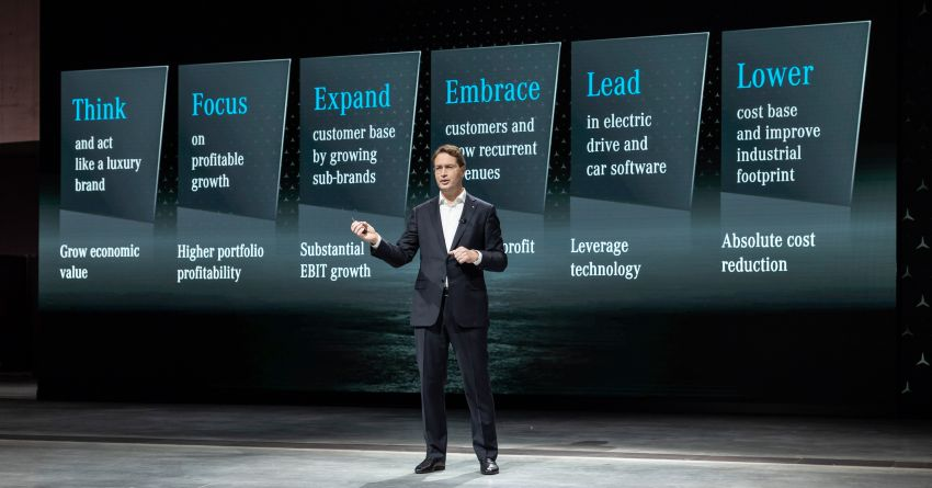 Mercedes-Benz announces new car business strategy – focus on luxury, cost cutting, new MMA EV platform Image #1189285