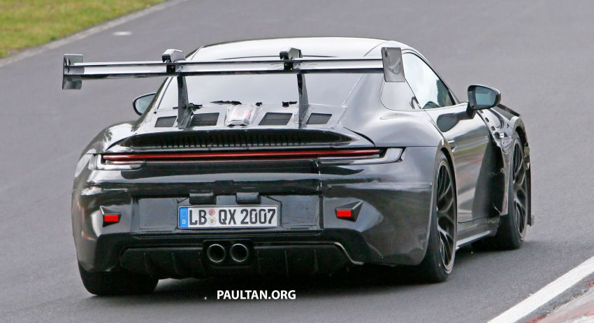 SPIED: 992 Porsche 911 GT3 RS goes track testing Image #1194376