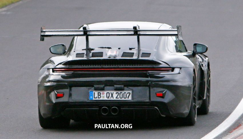 SPIED: 992 Porsche 911 GT3 RS goes track testing Image #1194377