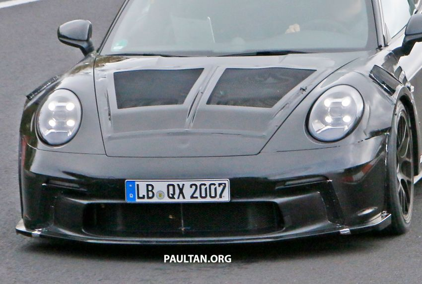 SPIED: 992 Porsche 911 GT3 RS goes track testing Image #1194379