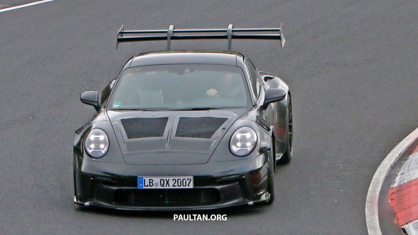 SPIED: 992 Porsche 911 GT3 RS goes track testing Image #1194365