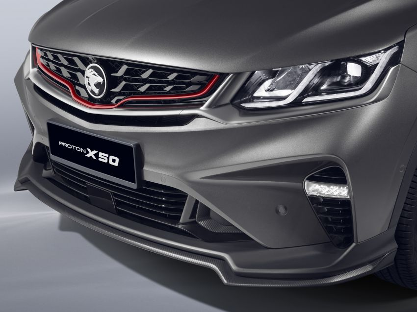 Proton X50 SUV launched – RM79,200 to RM103,300 Image #1200430