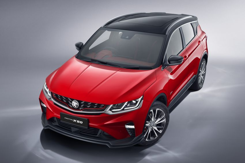 Proton X50 SUV launched – RM79,200 to RM103,300 Image #1200415