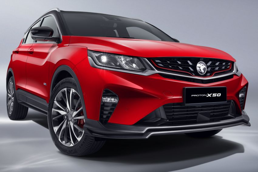 Proton X50 SUV launched – RM79,200 to RM103,300 Image #1200416
