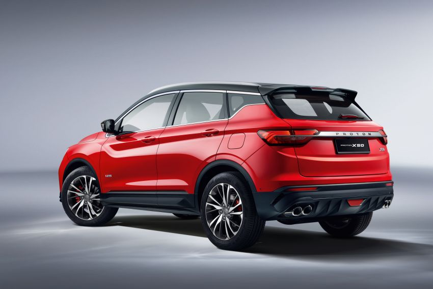 Proton X50 SUV launched – RM79,200 to RM103,300 Image #1200418