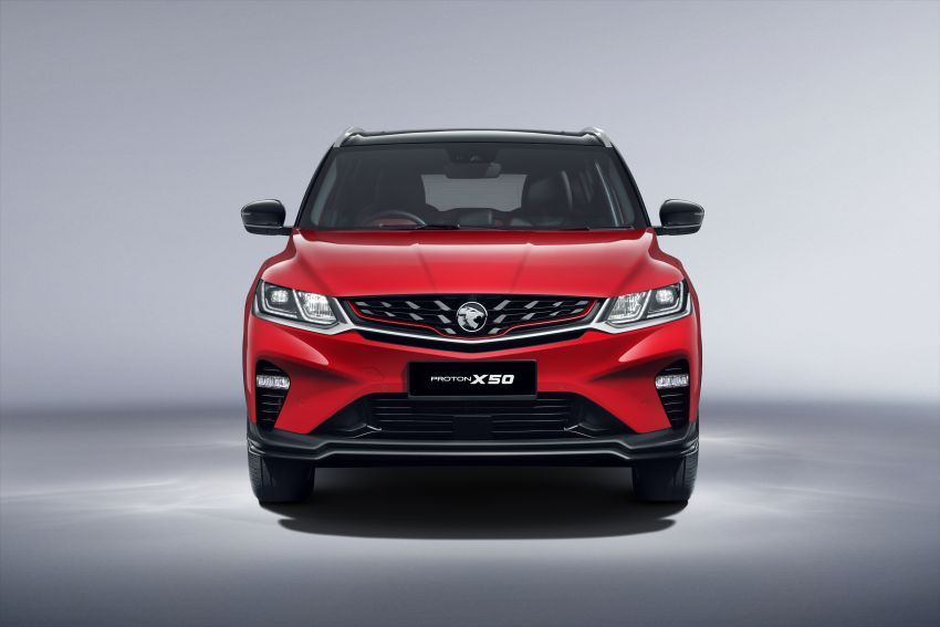 Proton X50 SUV launched – RM79,200 to RM103,300 Image #1200421