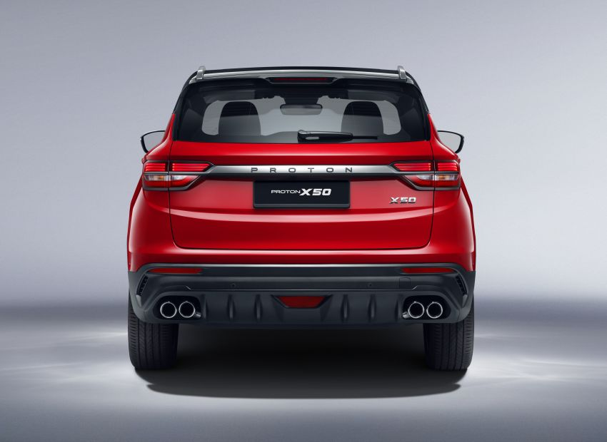 Proton X50 SUV launched – RM79,200 to RM103,300 Image #1200423
