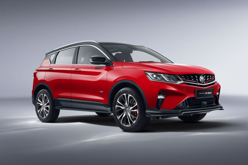 Proton X50 SUV launched – RM79,200 to RM103,300 Image #1200425