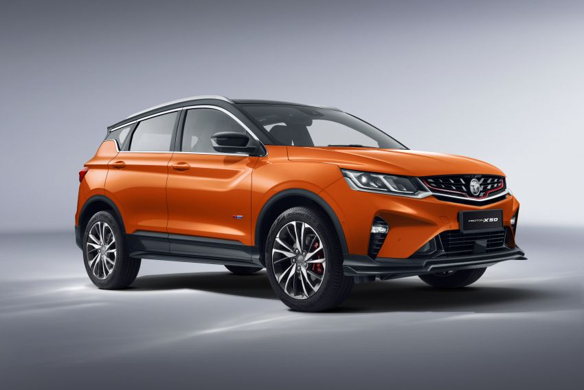 Proton X50 SUV launched – RM79,200 to RM103,300 Image #1200426