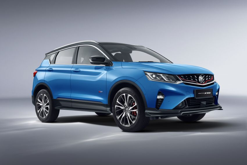 Proton X50 SUV launched – RM79,200 to RM103,300 Image #1200428