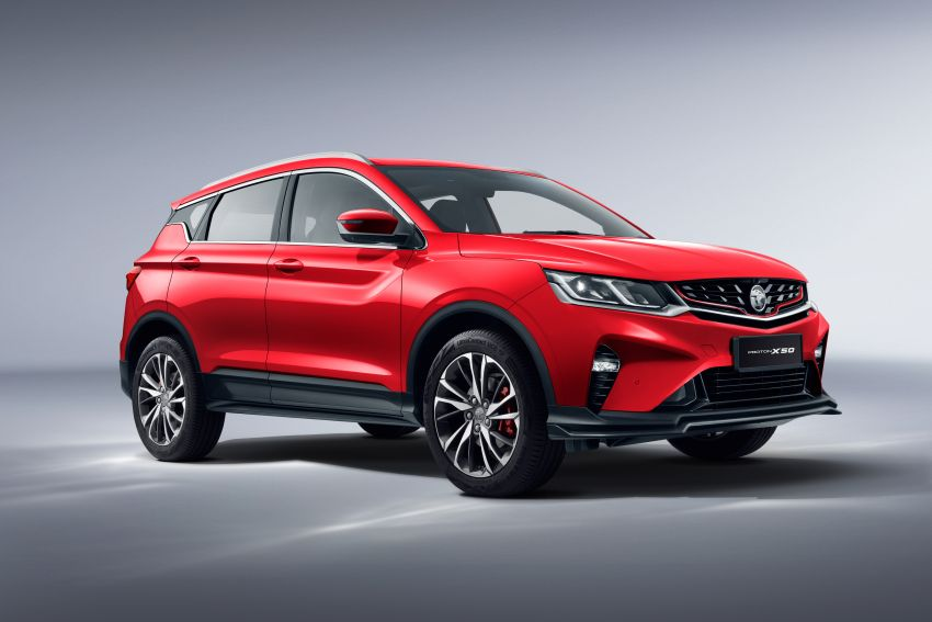Proton X50 SUV launched – RM79,200 to RM103,300 Image #1200477