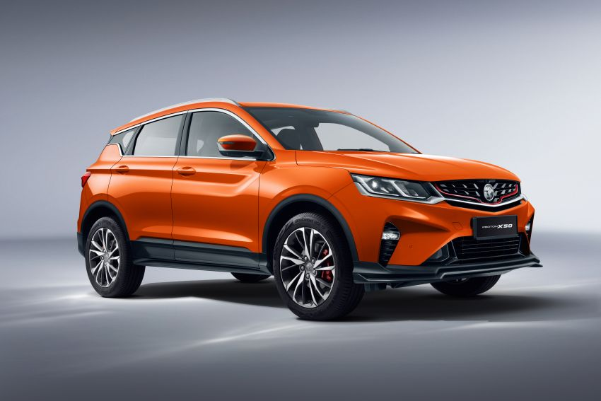 Proton X50 SUV launched – RM79,200 to RM103,300 Image #1200479