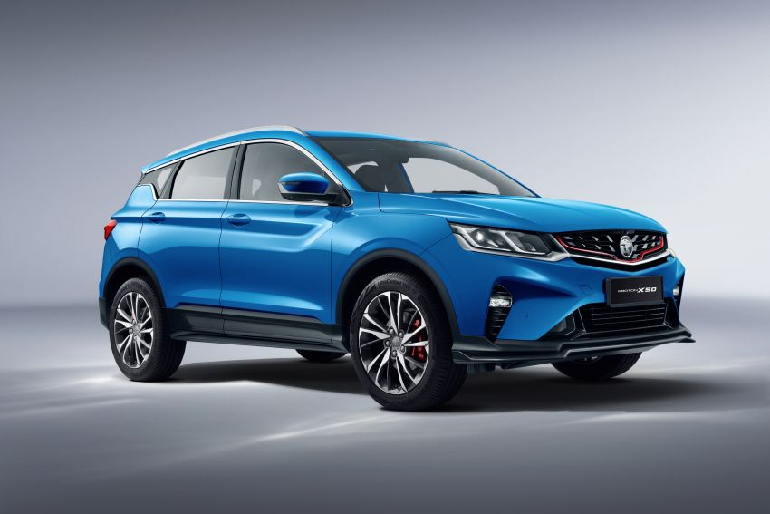 Proton X50 SUV launched – RM79,200 to RM103,300 Image #1200481